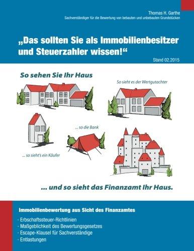 """Immobilienbewertung aus Sicht des Finanzamtes: """"Das sollten Sie als Immobilienbesitzer und Steuerzahler wissen!"""""""