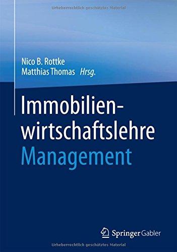 Immobilienwirtschaftslehre – Management