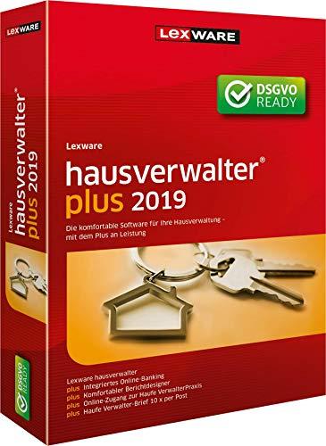 Lexware Hausverwalter Plus Minibox 2019|für Vermieter und eine professionelle Hausverwaltung|Buchhaltung, Verwaltung, Abrechnungen, Online Banking u.v.m.|Kompatibel mit Windows 7 und aktueller