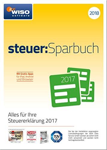 WISO steuer:Sparbuch 2018 (für Steuerjahr 2017)|Frustfreie Verpackung