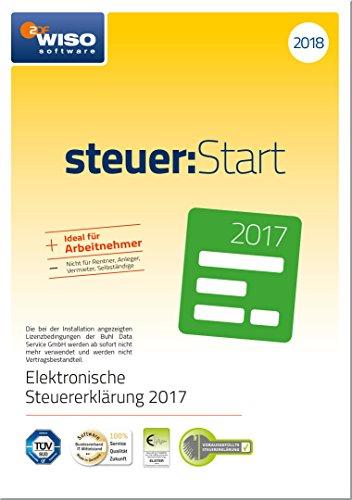 WISO steuer:Start 2018 (für Steuerjahr 2017) Frustfreie Verpackung